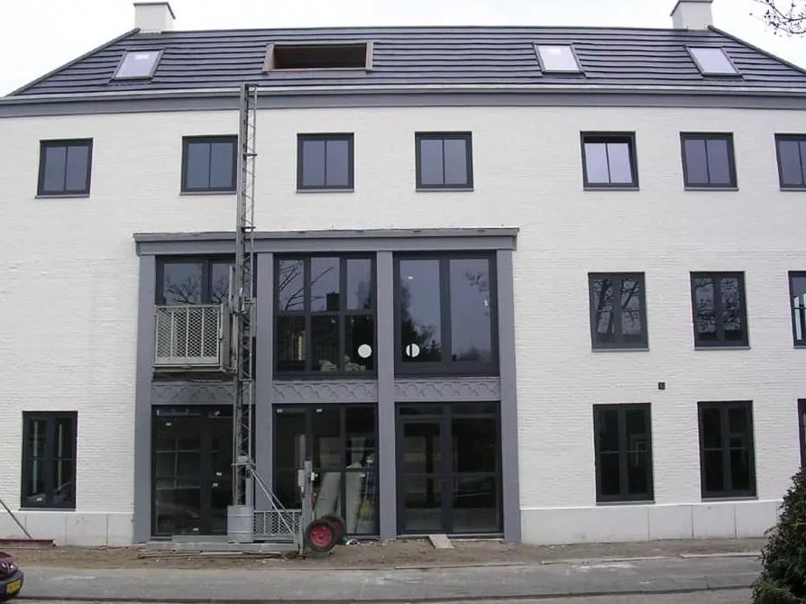 Transformatie verbouw bedrijfspand naar appartementen na